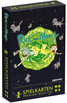 Spielkarten - Rick & Morty