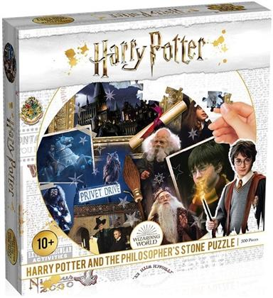 Harry Potter and the Philosopher's Stone - 500 Teile Puzzle