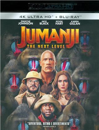 Jumanji 2 - The Next Level (2019) (4K Ultra HD + Blu-ray)