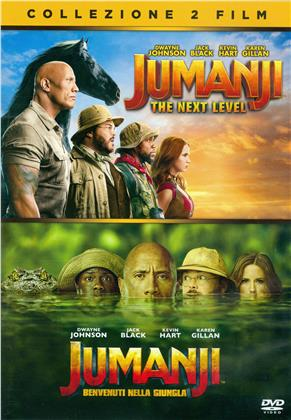 Jumanji 2 - The Next Level / Jumanji - Welcome to the Jungle - 2-Movie Collection (2 DVDs)