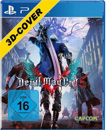 Devil May Cry 5 3D Cover