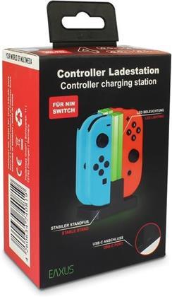 Switch Ladestation für 4 Joy-Con EAXUS<br>