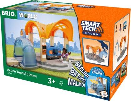 Smart Tech Bahnhof Action - Tunnel, 37 T., 306x185x151 mm