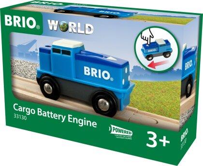Blaue Batterie Frachtlok