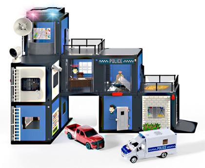 Polizeistation - Siku World, 410x276x73 mm