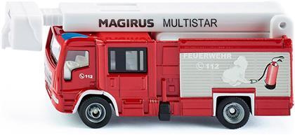 Magirus Multistar mit Tele- - skopmast, Siku Super, 1:87,