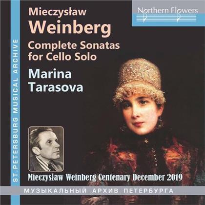 Mieczyslaw Weinberg (1919-1996) & Marina Tarasova - Complete Sonatas For Cello Solo