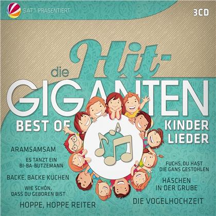 Die Hit Giganten Best Of Kinderlieder (3 CDs)