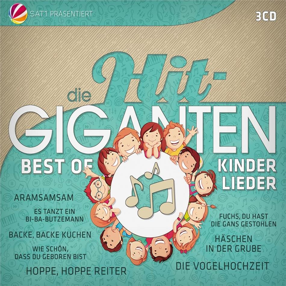 Die Hit Giganten Best Of Kinderlieder (3 CDs)