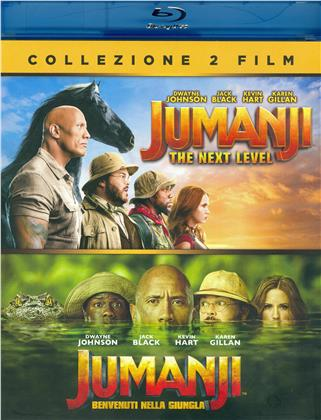 Jumanji 2 - The Next Level / Jumanji - Welcome to the Jungle - 2-Movie Collection (2 Blu-rays)