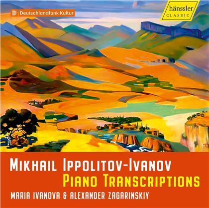 Michail Ippolitow-Iwanow, Maria Ivanova & Alexander Zagarinsky - Piano Transcriptions