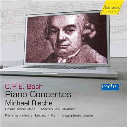 Carl Philipp Emanuel Bach (1714-1788) & Michael Rische - Piano Concertos (4 CDs)