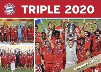 FC Bayern München Champions Leaque Sieger Triple Kalender 2021