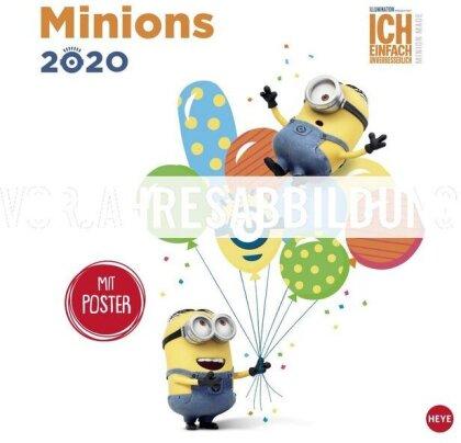 Minions Broschurkalender Kalender 2021