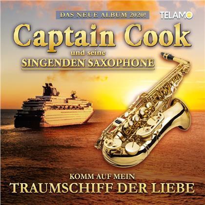 Captain Cook und seine singenden Saxophone - Komm auf mein Traumschiff der Liebe
