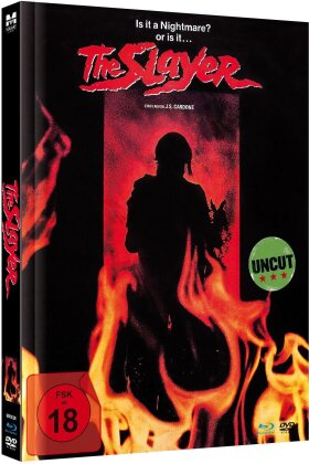 The Slayer (1982) (Limited Edition, Mediabook, Uncut, Blu-ray + DVD)
