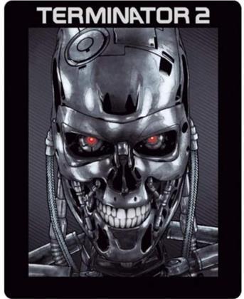 Terminator 2 - T-800 Metallhead Aufbewahrungsbox Geschenkset (1991) (Steel Edition, Limited Edition, 2 Blu-rays)