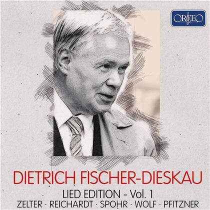Carl Friedrich Zelter (1758-1832), Johann Friedrich Reichardt (1752-1814), Louis Spohr (1784-1859), Hugo Wolf (1860-1903), Hans Erich Pfitzner (1869-1949), … - Lied Edition 1