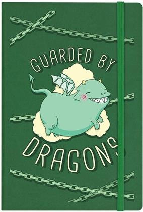Guarded By Dragons - A5 Hard Cover Notebook