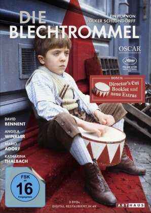 Die Blechtrommel (1979) (Digital Remastered, Collector's Edition, 3 DVDs)