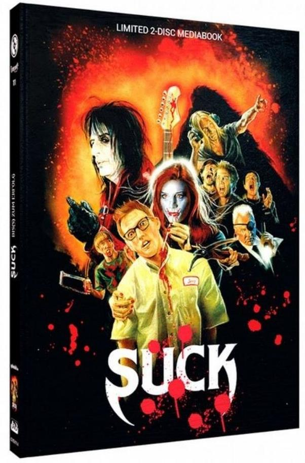 Suck (2009) (Cover A, Limited Edition, Mediabook, Blu-ray + DVD)