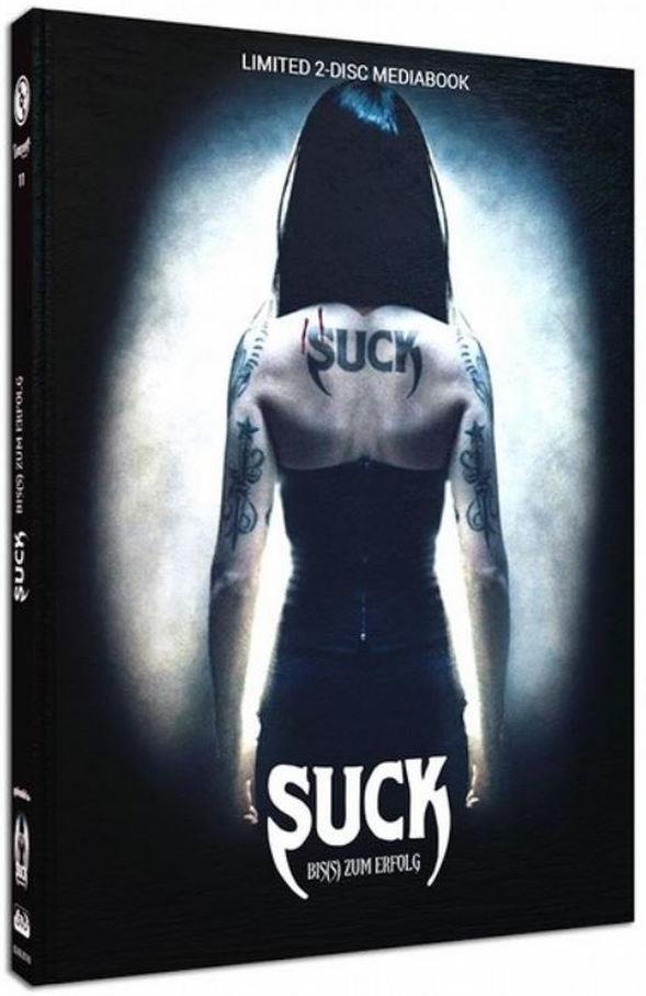 Suck - Bis(s) zum Erfolg (2009) (Cover B, Limited Edition, Mediabook, Blu-ray + DVD)