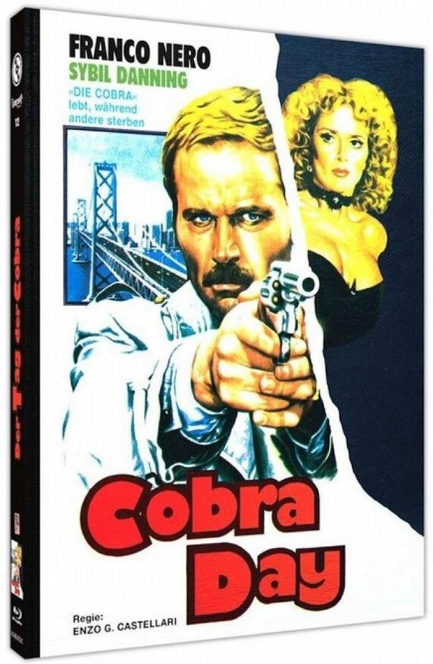 Cobra Day (1980) (Cover C, Limited Edition, Mediabook, Blu-ray + DVD)