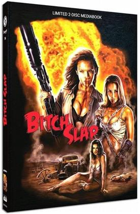 Bitch Slap (2009) (Cover A, Limited Edition, Mediabook, Blu-ray + DVD)