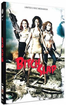 Bitch Slap (2009) (Cover B, Limited Edition, Mediabook, Blu-ray + DVD)
