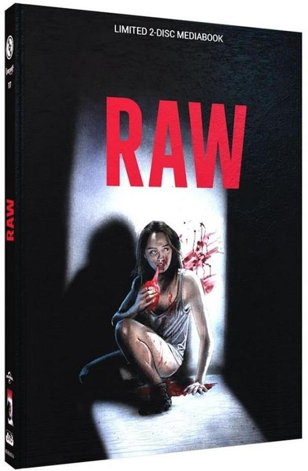 Raw (2016) (Cover A, Limited Edition, Mediabook, Blu-ray + DVD)
