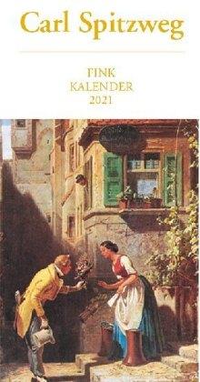 Carl Spitzweg 2021 Kunst-Postkartenkalender