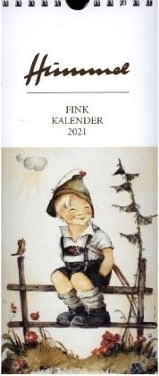 Fink Hummel 2021. Kunst-Postkartenkalender