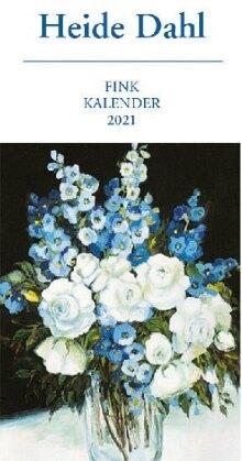 Heide Dahl Kunst-Postkartenkalender 2021