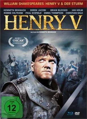 Henry V (1989) / Der Sturm (2010) (Edizione Limitata, Mediabook, 2 Blu-ray + DVD)