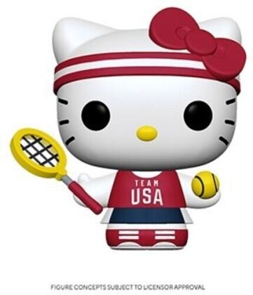 Funko Pop! Sanrio: - Hello Kitty Sports Team USA - Tennisl Hello Kitty