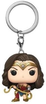 Funko Pop! Keychain: - Wonder Woman 1984 - Wonder Woman W/ Lasso