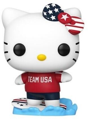 Funko Pop! Sanrio: - Hello Kitty Sports Team USA - Surfing Hello Kitty