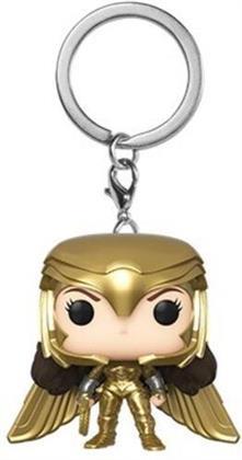 Funko Pop! Keychain: - Wonder Woman 1984 - Wonder Woman Gold Power Pose