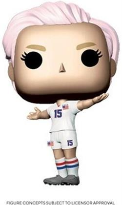 Funko Pop! Sports: - U.S. Woman's Soccer Team - Megan Rapinoe