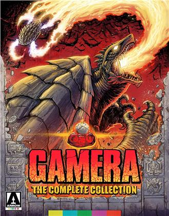 Gamera - The Complete Collection (8 Blu-rays)