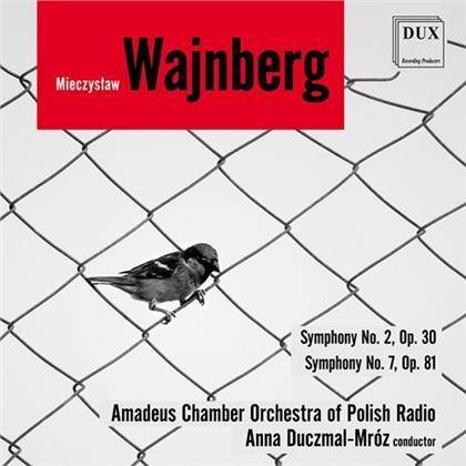 Amadeus Chamber Orchestra, Mieczyslaw Weinberg (1919-1996) & Anna Duczmal-Mroz - Symphonies 2 & 7