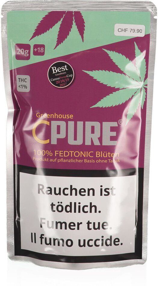 CPure Fedtonic Greenhouse (20g)