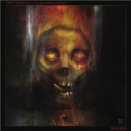 "Triptykon (Tom Warrior/Celtic Frost) & Metropole Orkest - Requiem (Live At Roadburn 2019) (Artbook Edition, Edizione Limitata, Dark Red Vinyl, LP + CD + DVD + 7"" Single)"