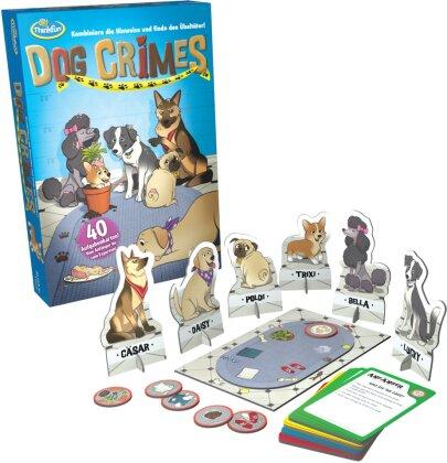 ThinkFun - 76413 - Dog Crimes - Kombiniere die Hinweise und finde den Übeltäter! Deduktionsspiel für Fellnasenfreunde
