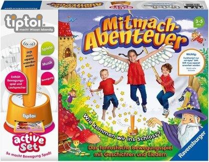 tiptoi® active Set Mitmach-Abenteuer (Spiel-Zubehör) - Das audiodigitale Lernsystem. Macht Wissen lebendig.