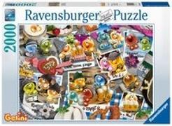 Gelini auf dem Oktoberfest - 2000 Teile Puzzle