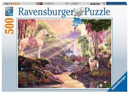 Märchenhafte Flussidylle - 500 Teile Puzzle