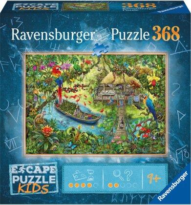 Escape Kids: Dschungelsafari - 368 Teile Puzzle