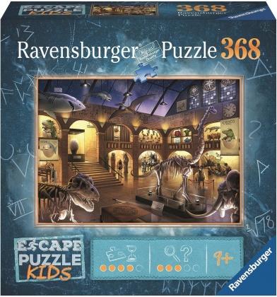 Escape Kids: Nachts im Museum - 368 Teile Puzzle