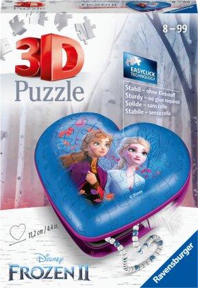 Disney Frozen 2: Herzschatulle - 3D Puzzle 54 Teile